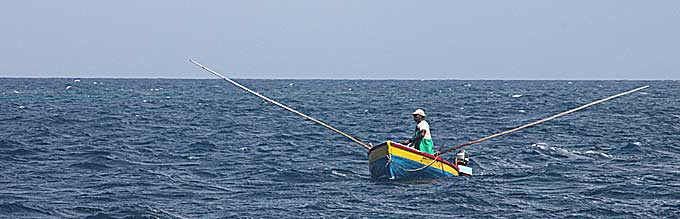 Grenadian fisherman